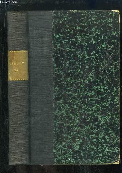 Oeuvres Complètes d'Alphonse Daudet, TOME 12 : Théâtre. L'Arlésienne, La Menteuse, Sapho, Le Sacrifice, Numa Roumestan.