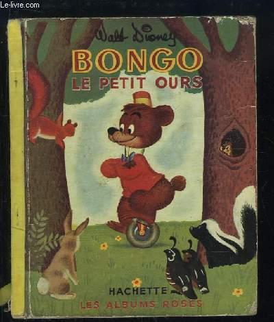 Bongo le petit ours