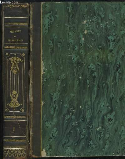 Oeuvres de Massillon, Evêque de Clermont. EN 2 TOMES