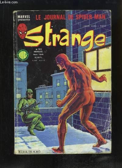 Strange, le journal de Spiderman - N°195