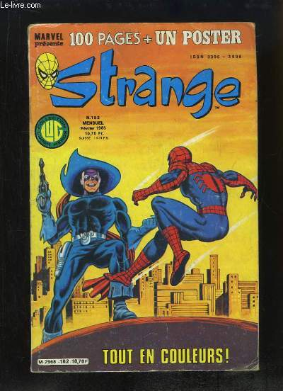 Strange, le journal de Spiderman - N°182