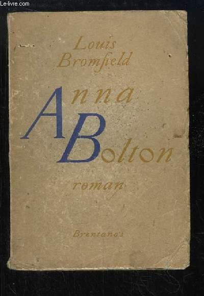 Anna Bolton. Roman