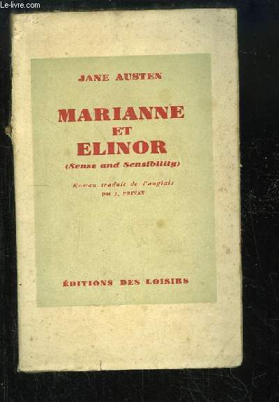 Marianne et Elinor (Sense and Sensibility)