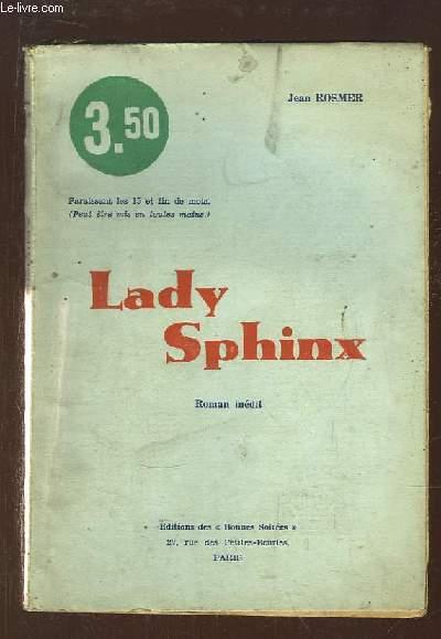 Lady Sphinx.