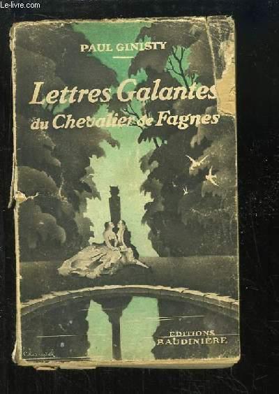 Lettres Galantes du Chevalier de Fagnes.