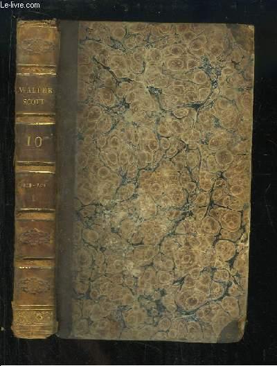 Oeuvres de Walter Scott, TOME 10 : Rob-Roy, 1e partie.