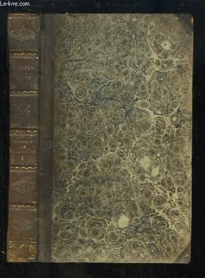 Oeuvres de Walter Scott, TOME 54 : Les Chroniques de la Canongate. Tome 1