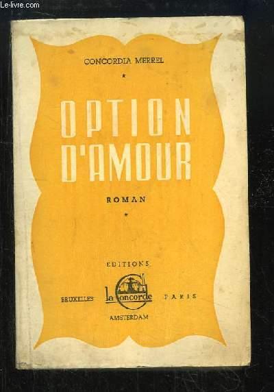 Option d'Amour.