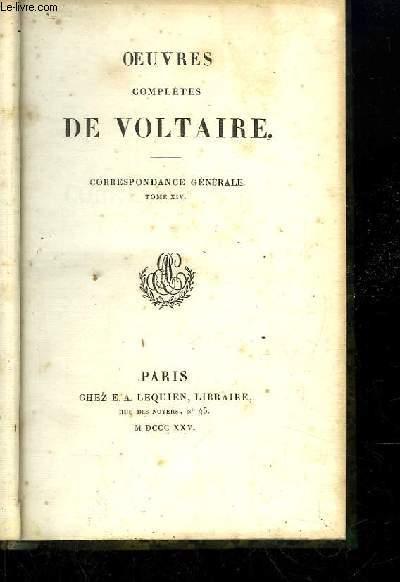 Oeuvres complètes de Voltaire. TOME 69 : Correspondance Générale Tome 14