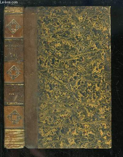 Oeuvres complètes de Voltaire. TOME 70 : Table Analytique des Oeuvres de Voltaire, composée par J.B.J. Champagnac.