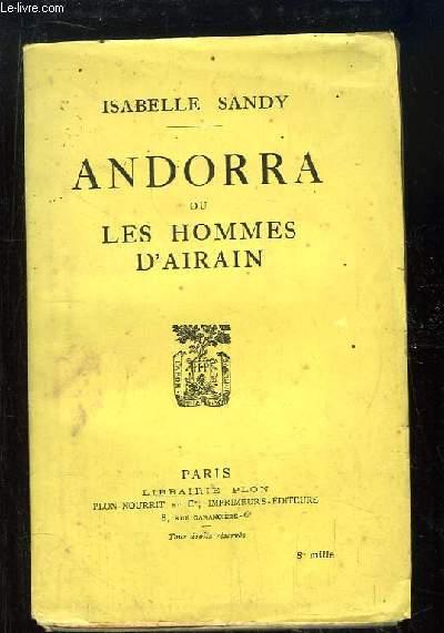 Andorra ou les hommes d'Airin