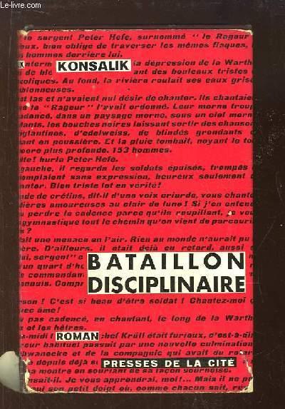 Bataillon Disciplinaire.