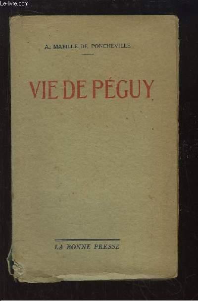 Vie de Péguy.