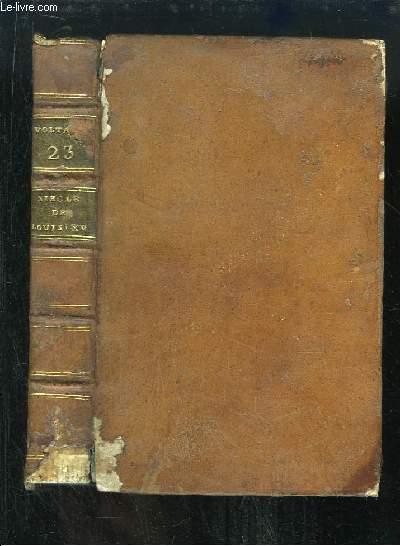 Oeuvres Complètes de Voltaire. TOME 22 : Précis du Siècle de Louis XV.