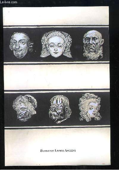 Catalogue n°129 de la Librairie Bonnefoi, de Livres rares et quelques manuscrits.