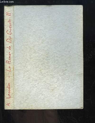 L'épée du Connétable. Le roman de Du Guesclin.