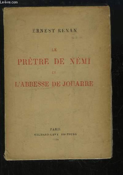 Le Prètre de Némi et l'Abesse de Jouarre.