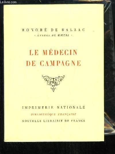 Le Médecin de Campagne.