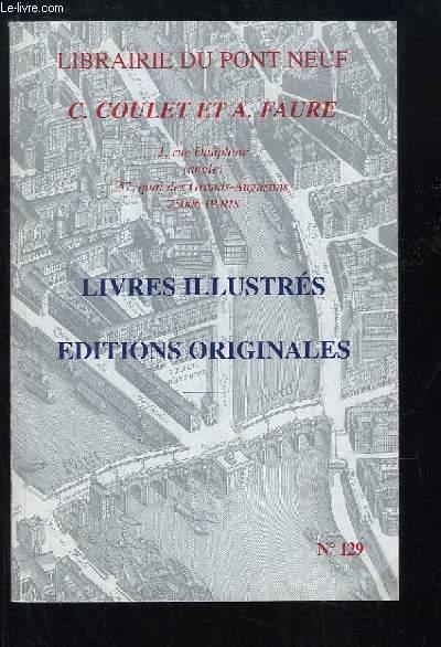 Catalogue N°129, de Livres Illustrés et Editions Originales