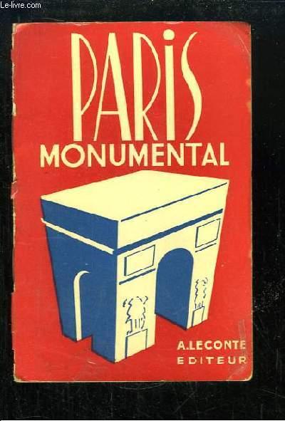 Paris Monumental.