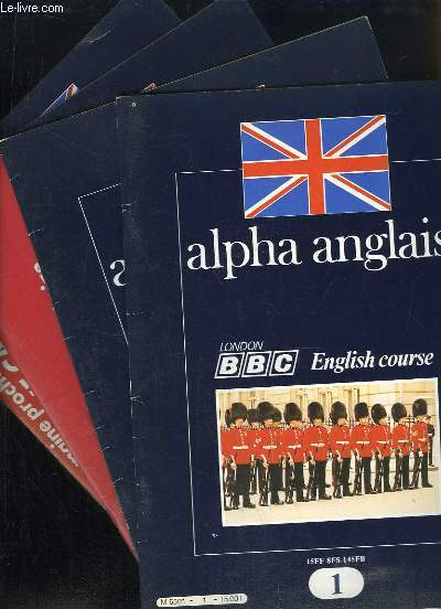 Alpha anglais. English course.