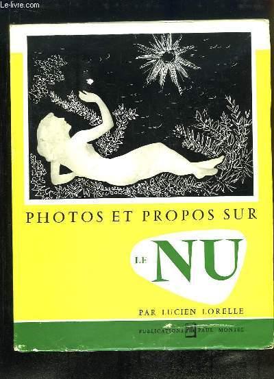 Photos et Propos sur le Nu.