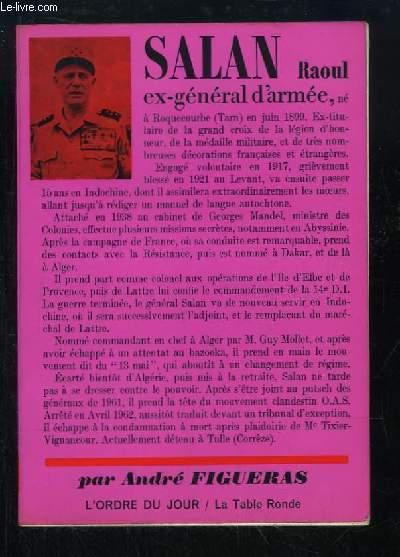 Salan Raoul, ex-général ...