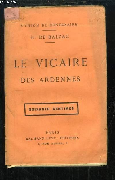 Le Vicaire des Ardennes.
