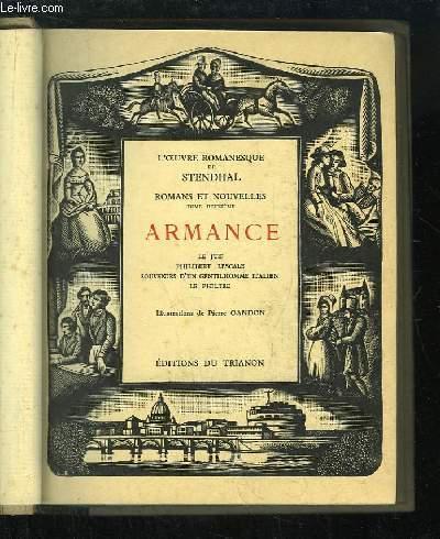 Romans et Nouvelles, TOME 2 : Armance. Le Juif - Philibert Lescale - Souvenirs d'un gentilhomme italien - Le Philtre