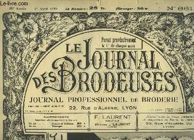 Le Journal des Brodeuses N°661 - 35e année : Bavoir brassière - Coin de pochette - Serviette de bébé ...