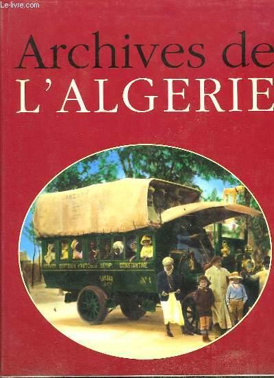 Archives de l'Algérie.
