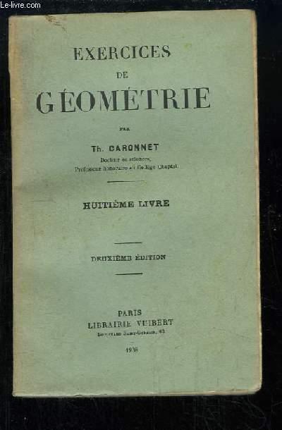 Exercices de Géométrie. 8ème livre