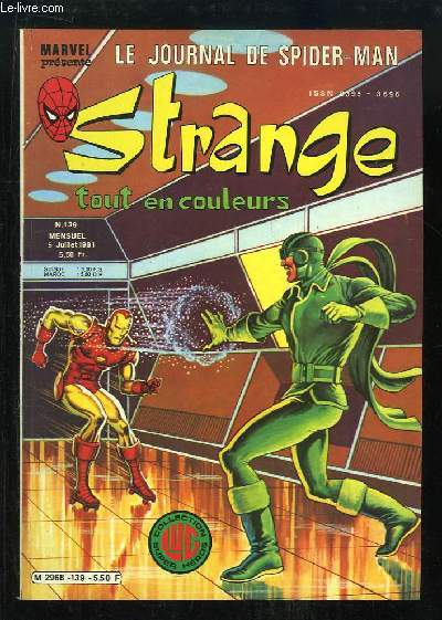 Strange, le journal de Spiderman N°139