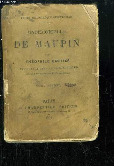 Mademoiselle de Maupin. TOME 2