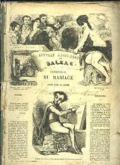 Oeuvres illustrées d'Honoré de Balzac : Physiologie du Mariage.