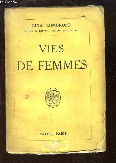 Vies de Femmes.