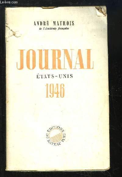 Journal. Etats-Unis 1946