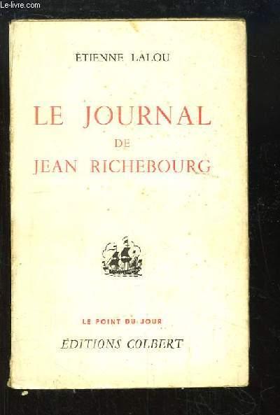 Le journal de Jean Richebourg.