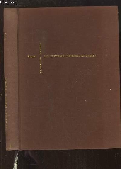 Les Fables d'Esope. Le Livre des Subtilles hystoires et fables de Esope.