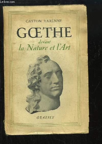 Goethe devant la Nature et l'Art