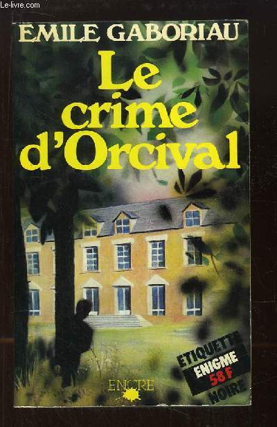 Le Crime d'Orcival.