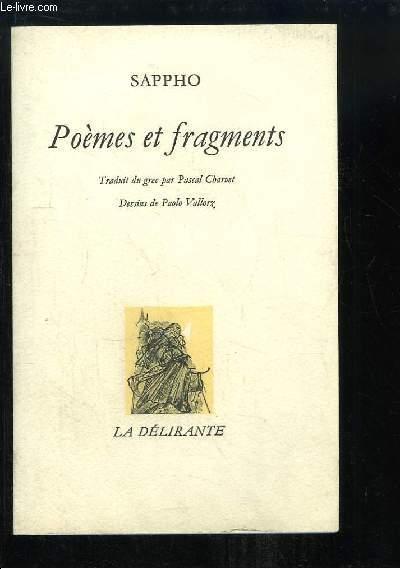 Poèmes et Fragments.