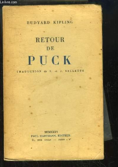 Retour de Puck.