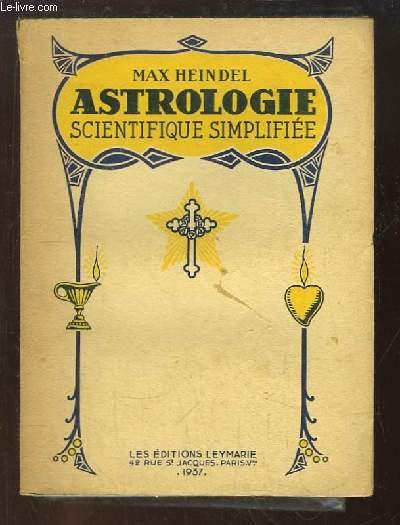 Astrologie Scientifique simplifiée.