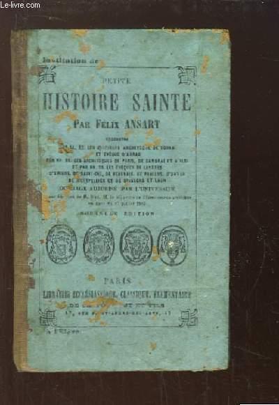 Petite Histoire Sainte.