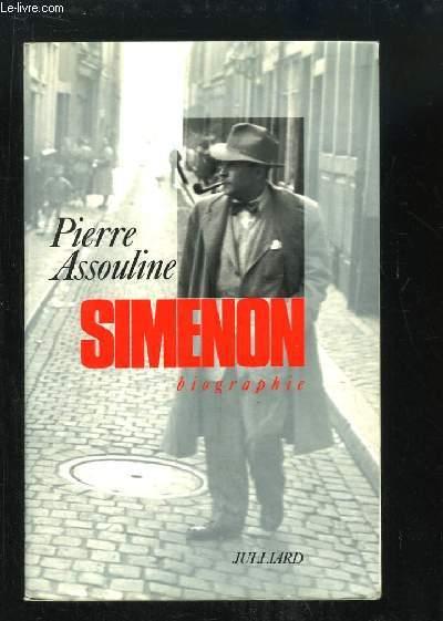 Simenon, biographie