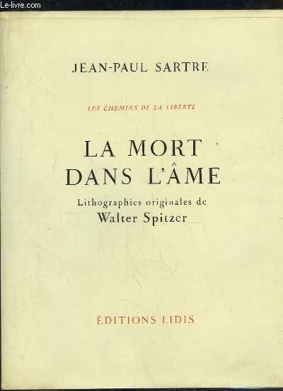 Les Chemins de la Liberté, TOME III : La Mort dans l'Âme.