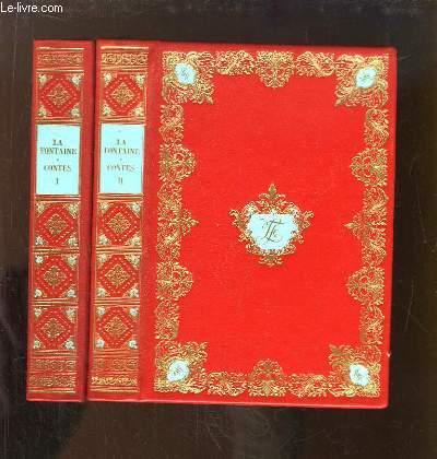 Contes de La Fontaine, EN 2 TOMES. Réimpression de l'édition de Didot, 1795.