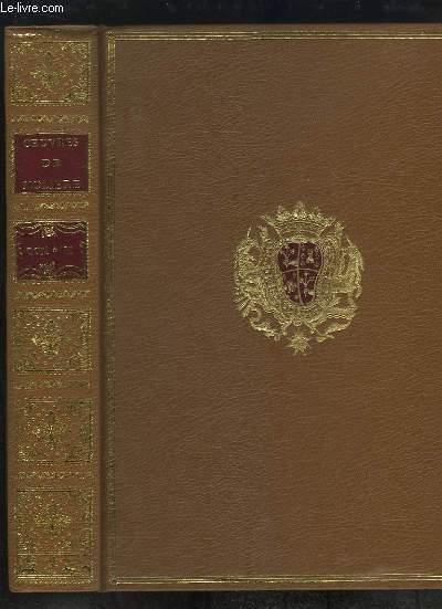 Edition pour le Tricentenaire de la mort de Molière. Oeuvres de Molière, TOME 6 : Amphitrion - L'Avare - Georges Dandin - Fête de Versailles, en 1668