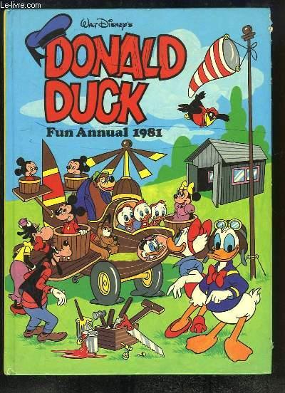 Donald Duck, Fun Annual 1981